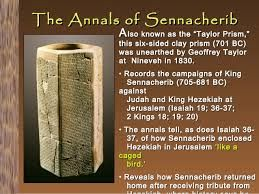 The Sennacherib prism